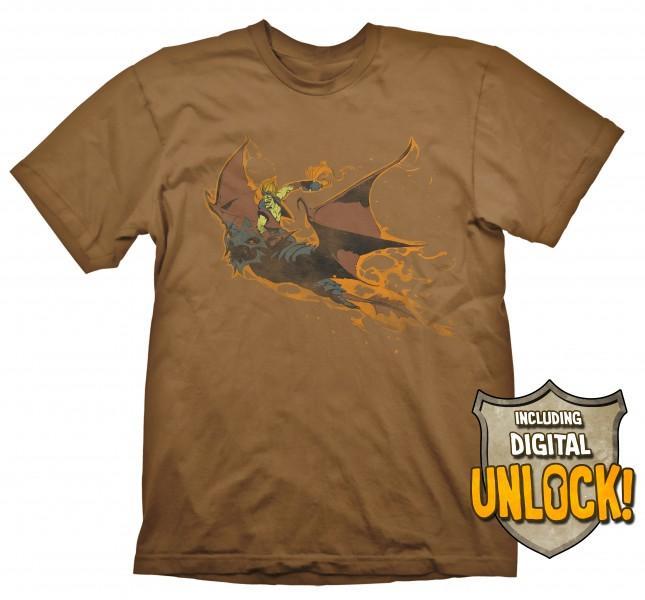 DOTA 2 - T-Shirt Batrider + Ingame Code (L)