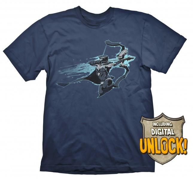 DOTA 2 - T-Shirt Drow Ranger + Ingame Code (L)