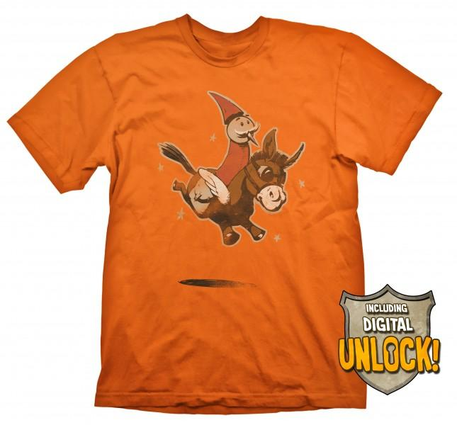 DOTA 2 - T-Shirt Wizard and Donkey + Ingame Code (L)