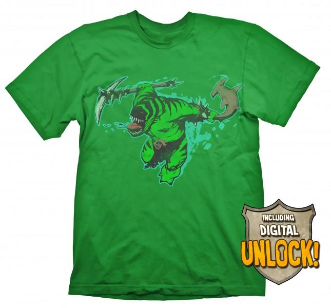 DOTA 2 - T-Shirt Tide Hunter + Ingame Code (L)