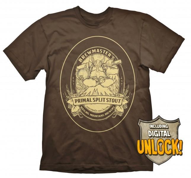 DOTA 2 - T-Shirt Brewmaster + Ingame Code (L)