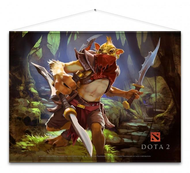 DOTA 2 - WallScroll 77X100 - Bounty Hunter