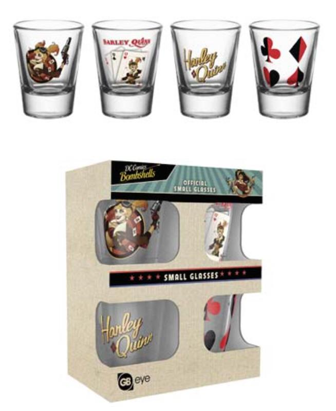 DC COMICS - Shot Glass - Harley Quinn Bombshell