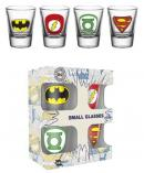 DC COMICS - Shot Glass - Logos