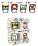 DC COMICS - Shot Glass - Logos