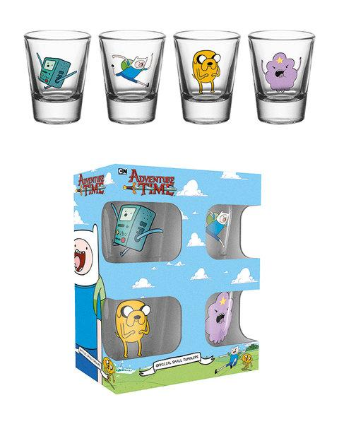 ADVENTURE TIME - Shot Glass - Characters