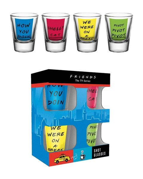 FRIENDS - Shot Glass - Quotes