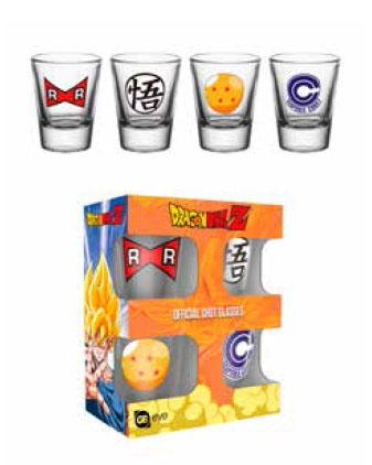 DRAGON BALL Z - Shot Glass - Mix