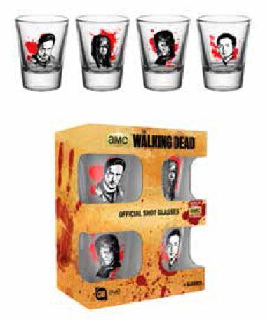 THE WALKING DEAD - Shot Glass - Characters_2