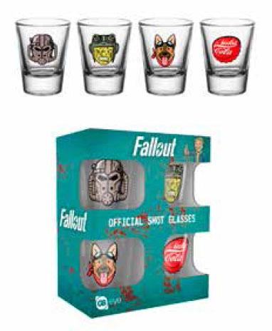 FALLOUT 4 - Shot Glass - Icon