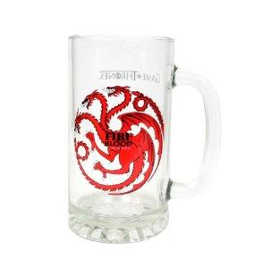 GAME OF THRONES - Beer Stein - Targaryen Crystal