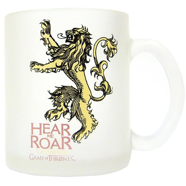 GAME OF THRONES - Mug - Lannister Translucent