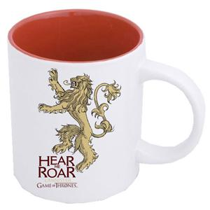 GAME OF THRONES - Mug - Lannister White Red