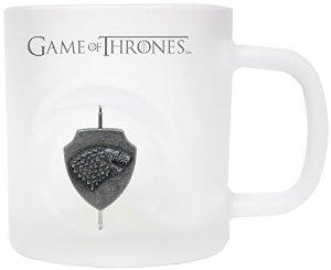 GAME OF THRONES - Mug - Stark 3D Rotating Logo - Crystal