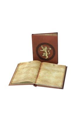 GAME OF THRONES - Notebook W/Light - Lannister