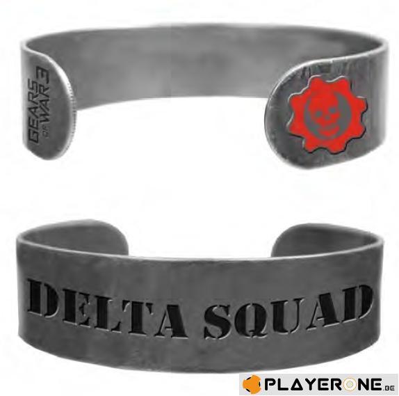 GEARS OF WAR 3 - Bracelet Militaire Delta Squad