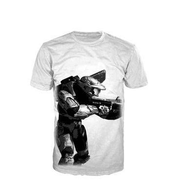 HALO 4 - T-Shirt White - Master Chief Classic (S)