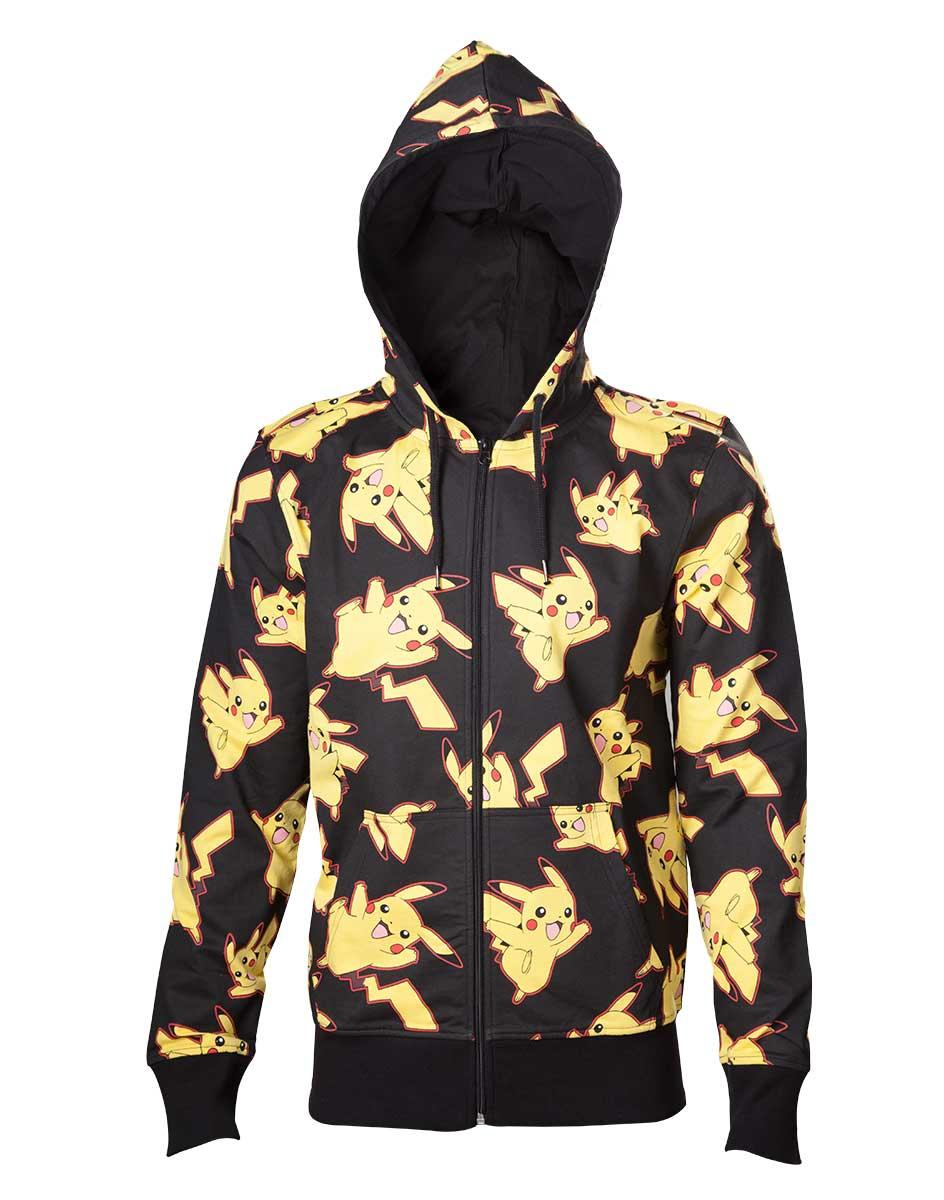 POKEMON - Sweatshirt Pikachu All Over Hoodie (S)_1