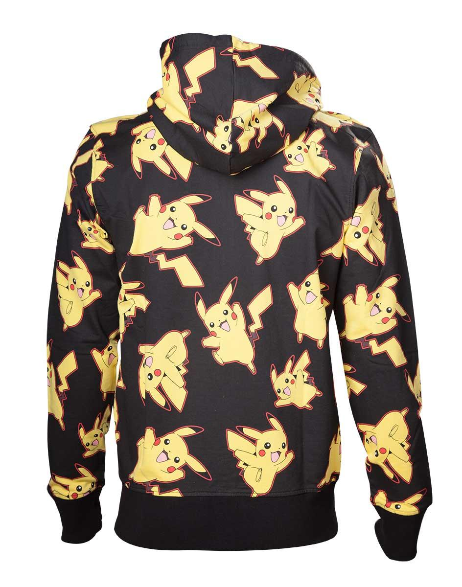 POKEMON - Sweatshirt Pikachu All Over Hoodie (S)_2