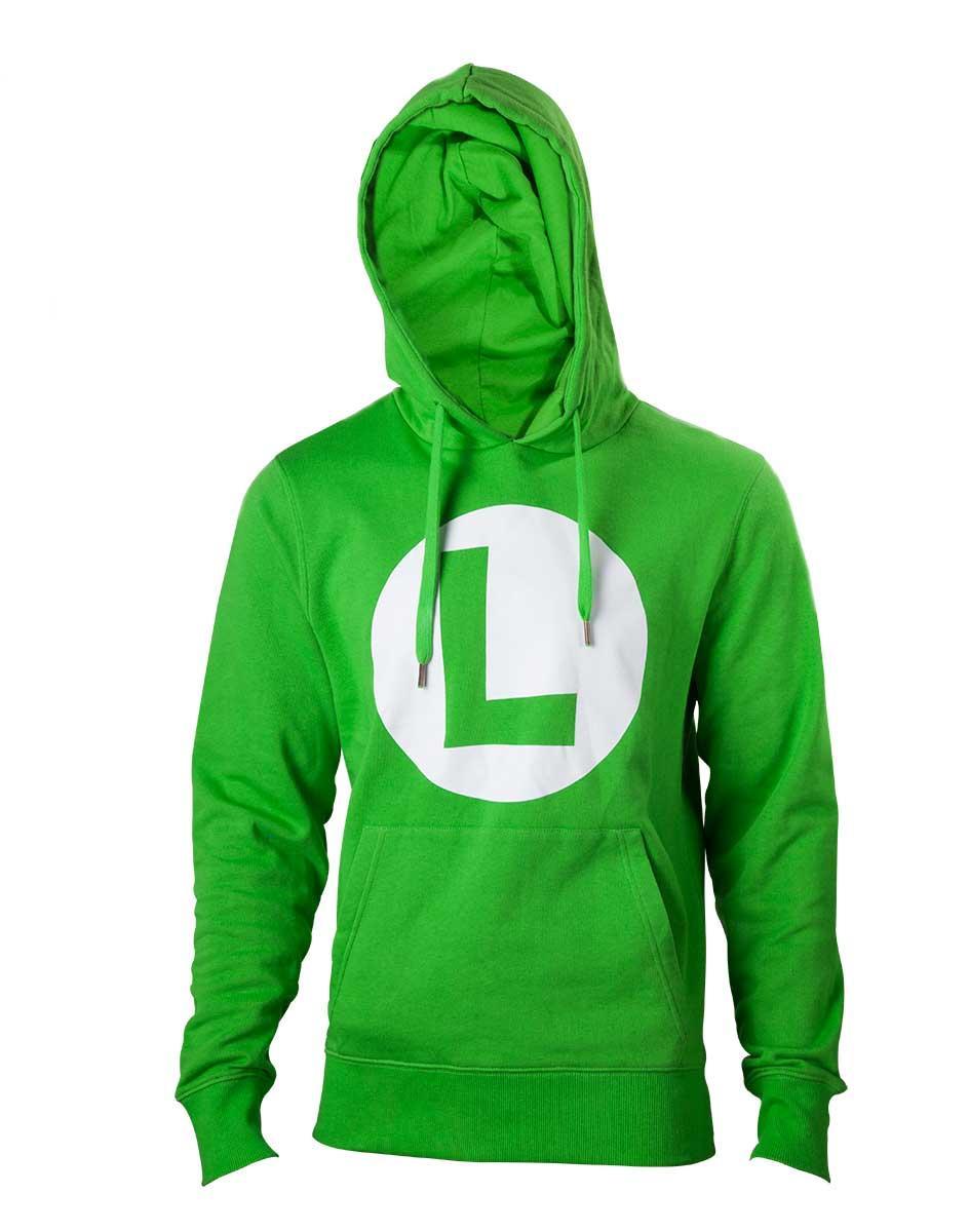 NINTENDO - Sweatshirt Luigi Logo (L)