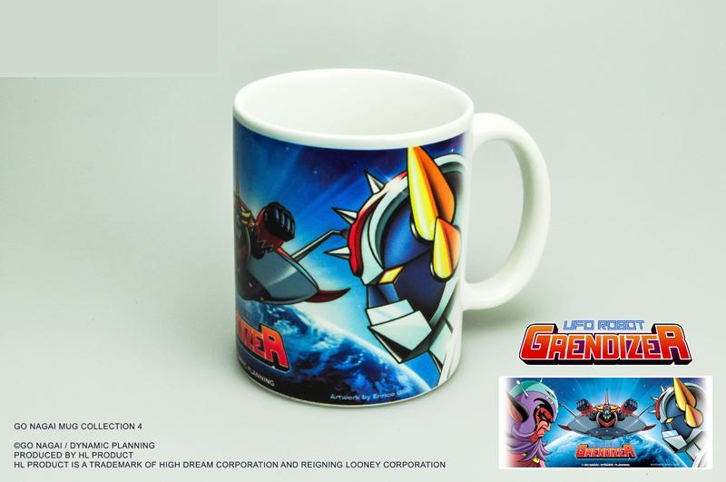 GOLDORAK - Mug 300ml - Grendizer and King Vega