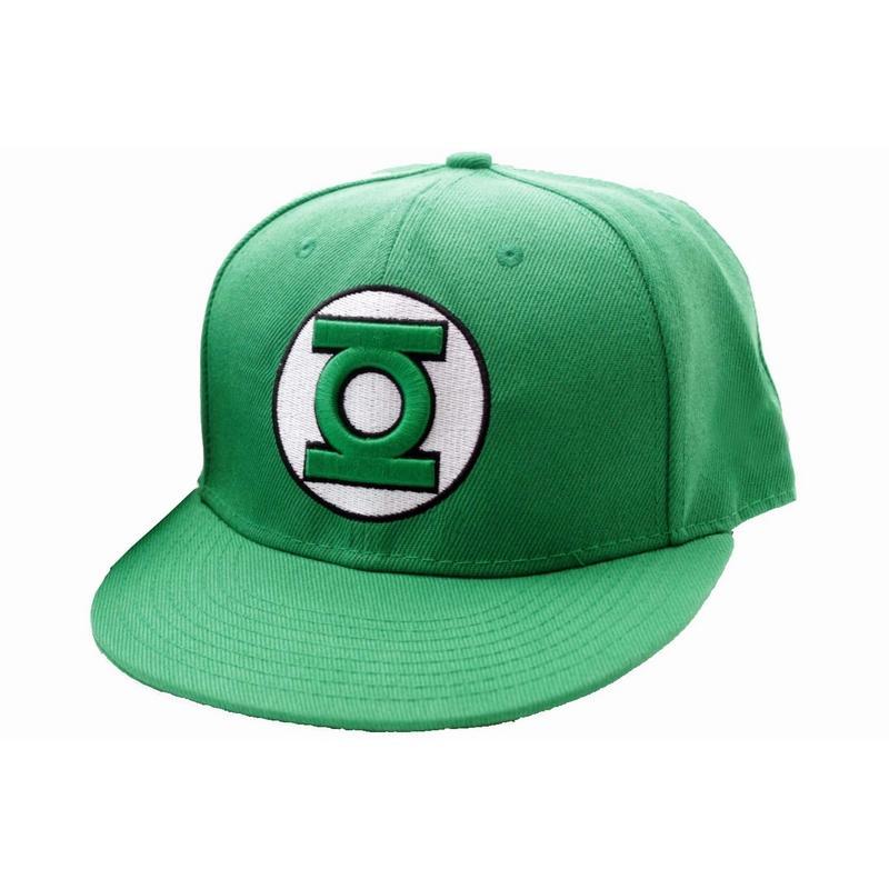 GREEN LANTERN - Casquette DC Comics - Green