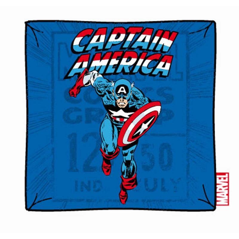MARVEL - Housse pour Coussin Captain America Running ( 40 x 40 )