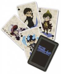 BLUE EXORCIST - Jeu de 54 Cartes
