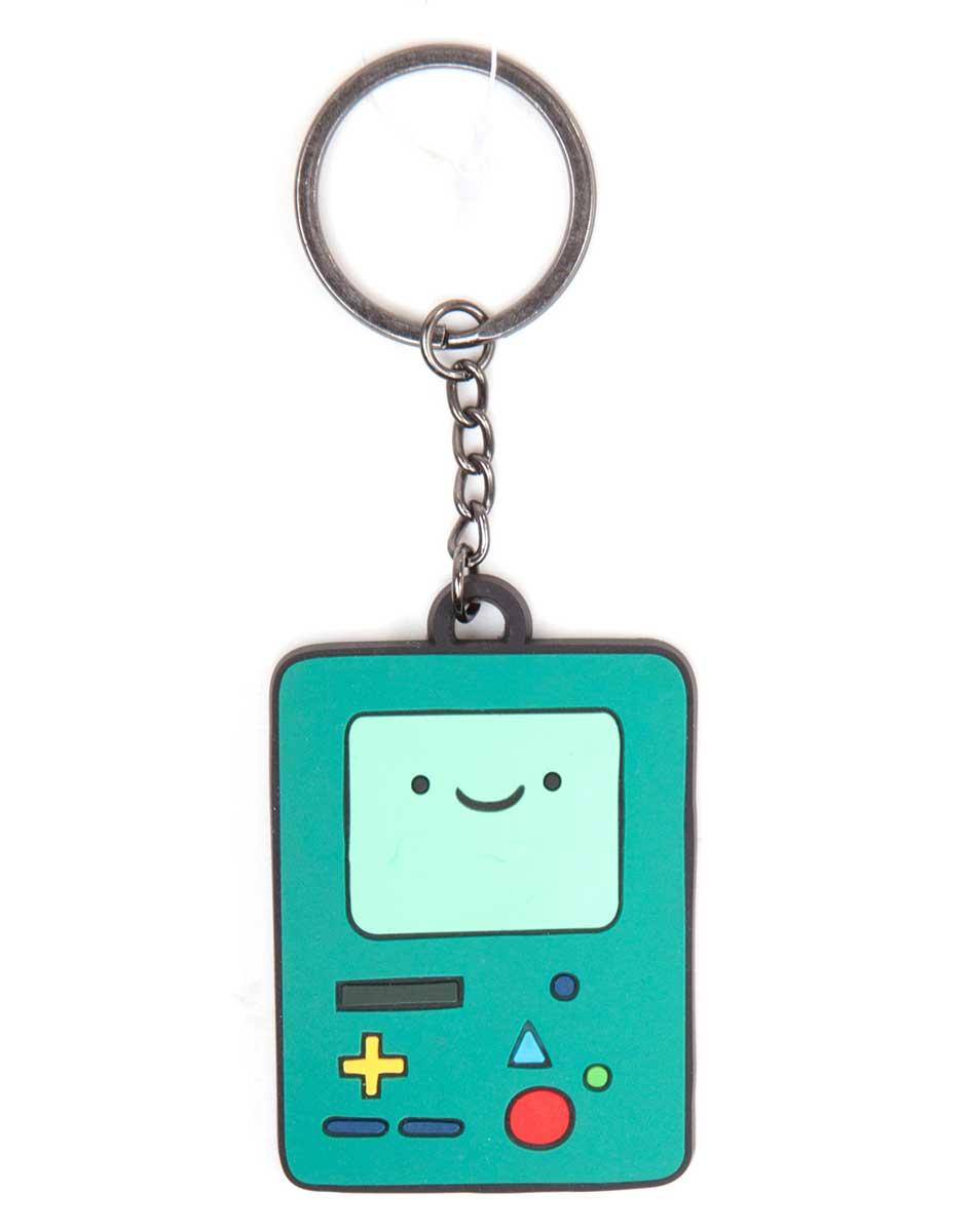 ADVENTURE TIME - Porte-cles BMO Rubber