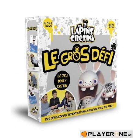 LAPINS CRETINS - Jeu de Plateau - Le Gros Defi