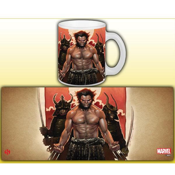 MARVEL - Mug - Wolverine Serie 1 - Samurai