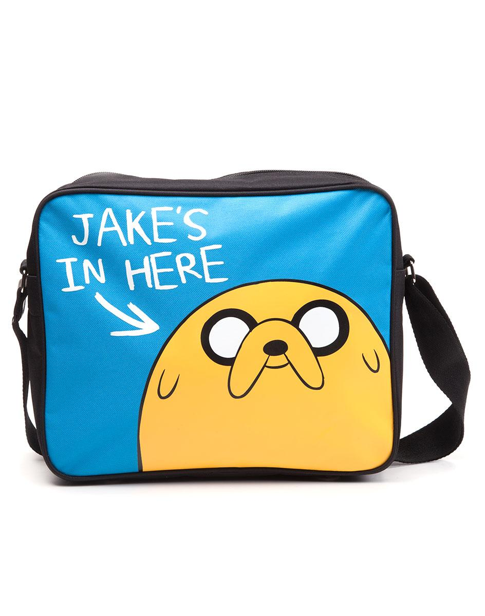 ADVENTURE TIME - Jake's In Here Messenger Bag
