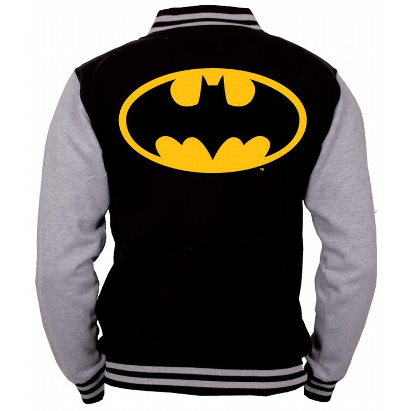 BATMAN  - Blouson Teddy Yellow Logo (M)
