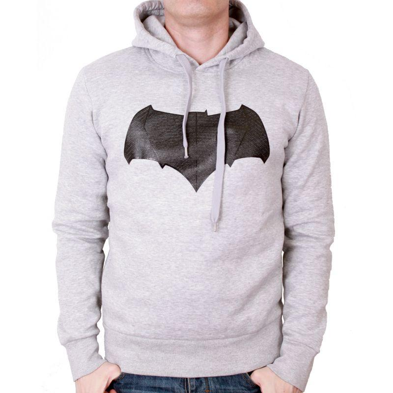 BATMAN VS SUPERMAN - Sweat Logo Gel (S)
