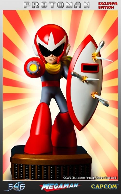 MEGAMAN - Protoman Regular Edition Statue EXCLUSIVE EDITION