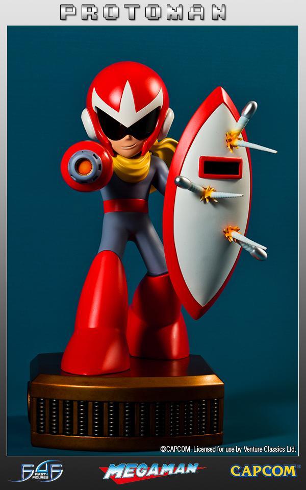 MEGAMAN - Protoman Regular Edition Statue (1000 Ex)