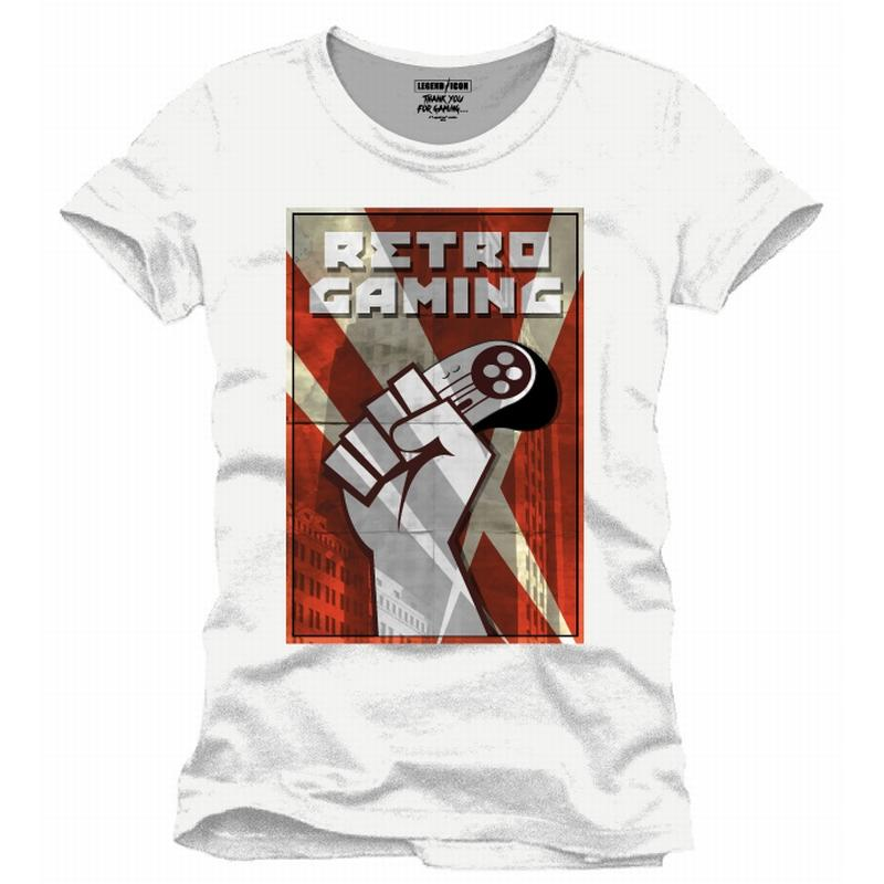 FOR GAMING - T-Shirt Retro Gaming - (M)