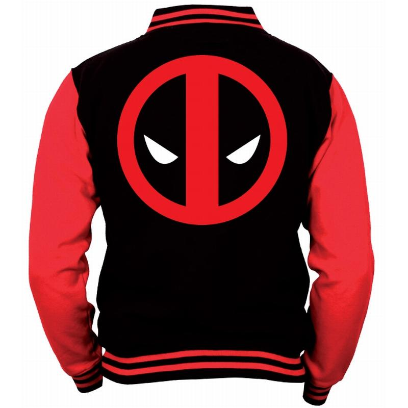 DEADPOOL - MARVEL - Blouson Teddy Logo (S)