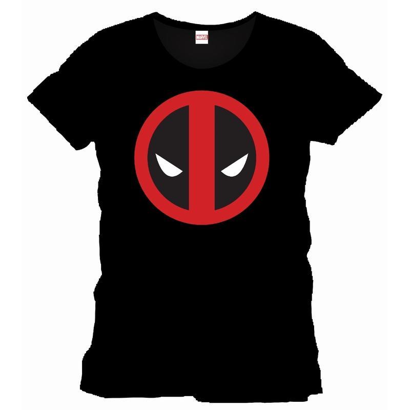 DEADPOOL - MARVEL T-Shirt Logo Officiel Black (L)