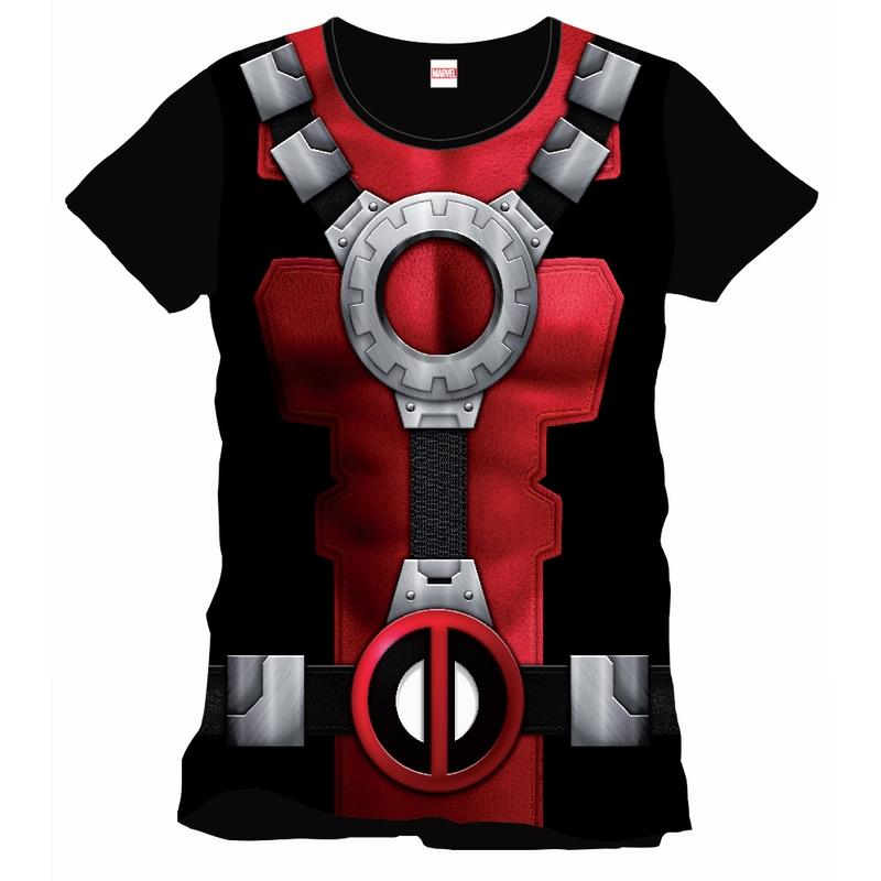 DEADPOOL - MARVEL T-Shirt Costume Officiel (XL)
