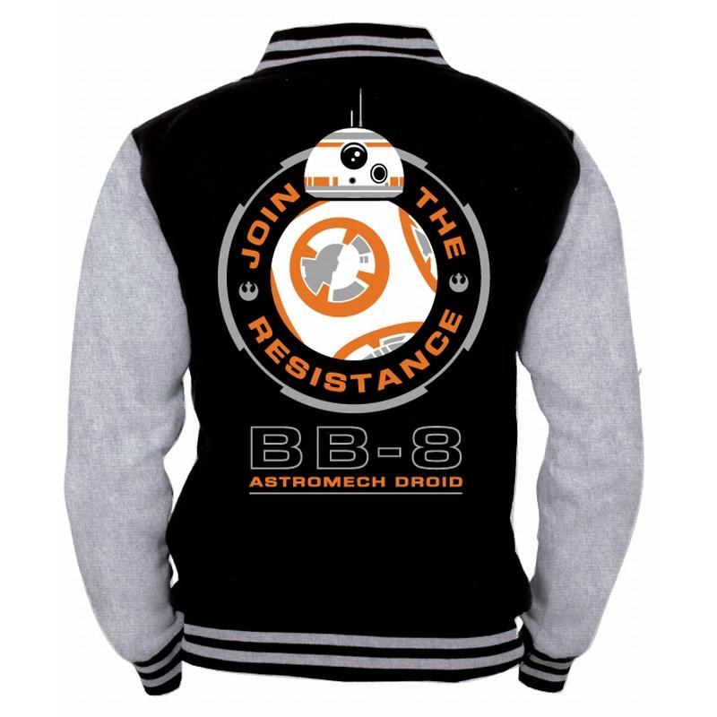 STAR WARS  - Blouson Teddy BB8 Astromech (S)