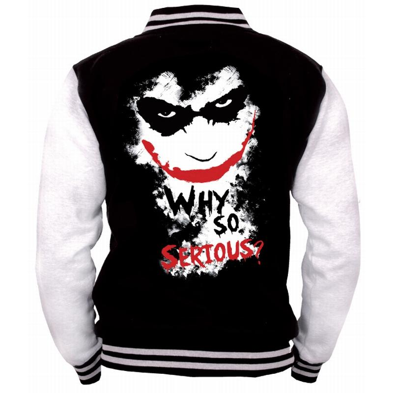 BATMAN  - Blouson Teddy Joker Why So Serious (XL)