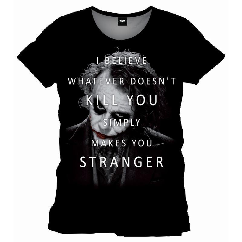BATMAN - T-Shirt Joker Whatever doesn't kill you (XL)_1