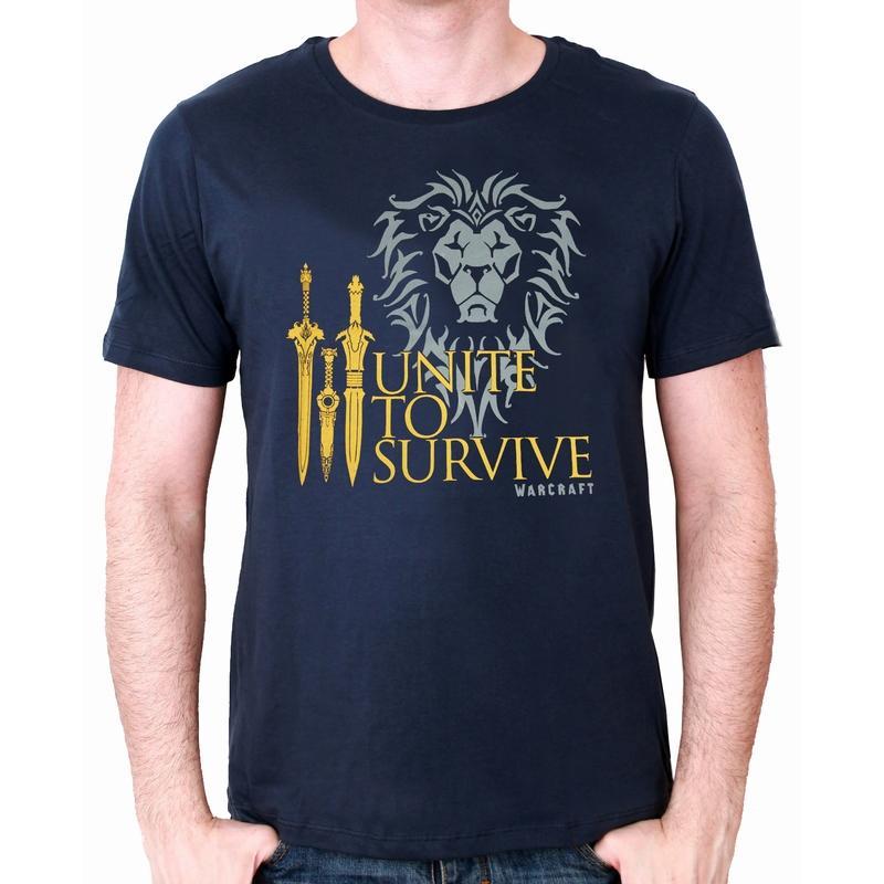 WARCRAFT - T-Shirt Unite to Survive (L)