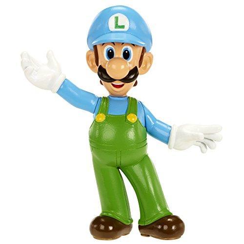 NINTENDO - Mini Figurines World of Nintendo - ICE LUIGI - 7cm
