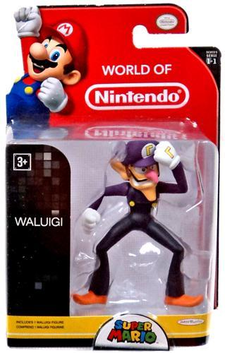 NINTENDO - Mini Figurines World of Nintendo - WALUIGI - 7cm