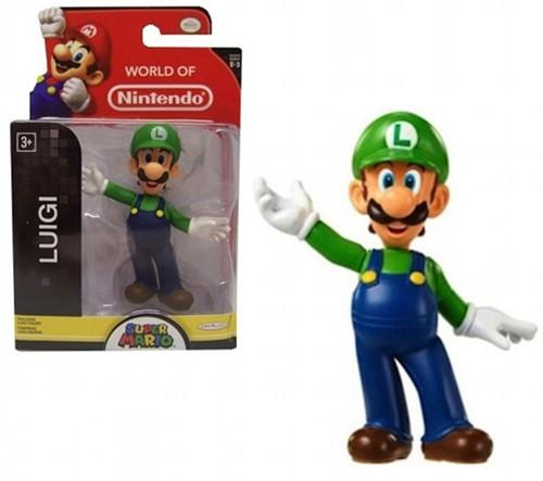 NINTENDO - Mini Figurines World of Nintendo - LUIGI - 6cm