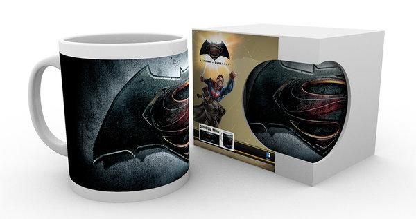 BATMAN VS SUPERMAN - Mug - 300 ml - Logo