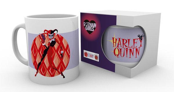 DC COMIC - Mug - 300 ml - Gotham Girl - Harley Quinn