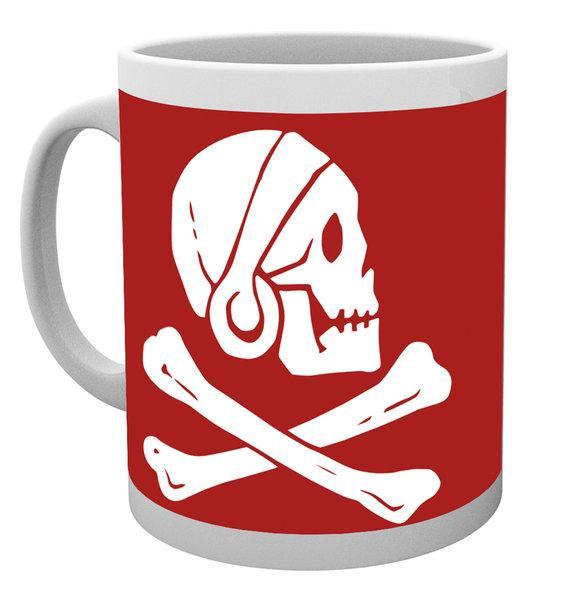 UNCHARTED 4 - Mug - 300 ml - Red Skull